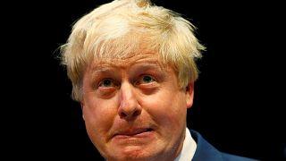 Boris Johnson durante la Conferencia del Partido Conservador en Birmingham, 2014.