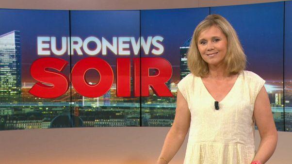 Euronews Soir : l'actualité du mardi 23 juillet 2019