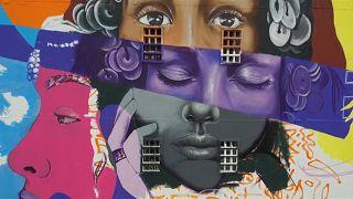 Arte de rua dá um toque de cor a Casablanca
