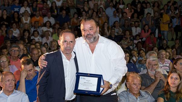 Greece: M. Iliopoulos awarded for contribution to those affected by the fire at Mati