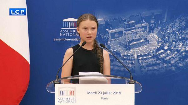 Greta Thunberg, la joven activista sueca que divide a la Asamblea Nacional de Francia