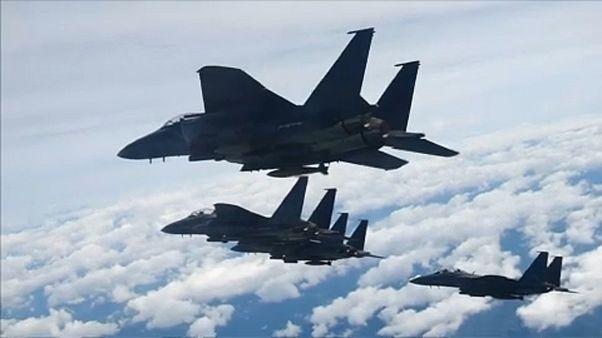 Figyelmeztető lövéseket adott le egy orosz gépre a dél-koreai légierő