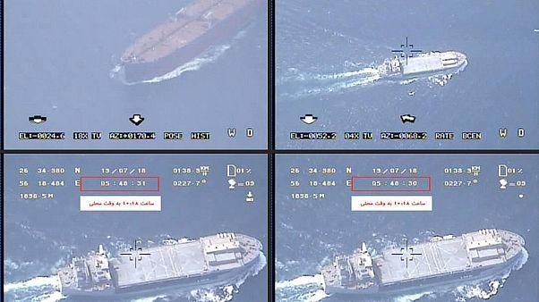 تصاویر پخش شده از تلویزیون ایران از ناو یواساس باکسر