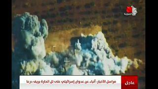 قصف إسرائيلي لمنطقة استراتيجية جنوب سوريا