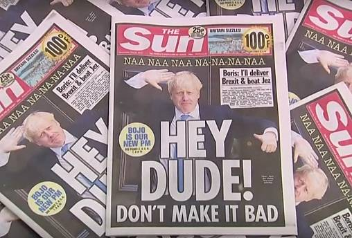 Boris Johnson: How has the UK media reacted to a former journalist appointed as soon-to-be PM?