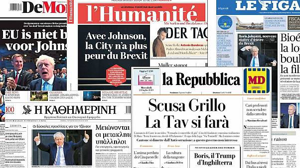 'We are not afraid': What have Europe's front pages got to say about Boris Johnson?