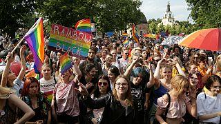 تظاهرات حمایت از حقوق دگرباشان جنسی در لهستان