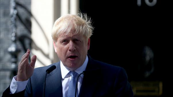 Image result for images of Prime Minister, Boris Johnson