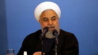 روحاني: إذا انتهك الأمريكيون مجالنا الجوي بطائرة مسيرة مرة أخرى فسيلقون نفس الرد