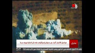 Israele bombarda area strategica nel sud della Siria