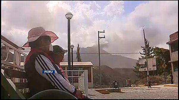 Kitört az Ubina vulkán Peruban