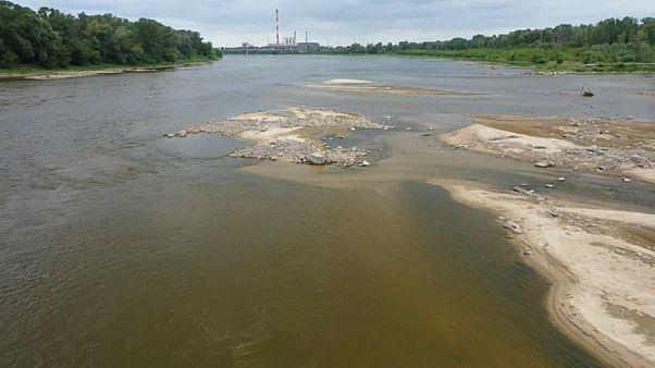 В Польше мелеют реки