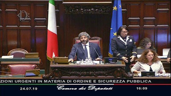 Camera dei Deputati vota la fiducia al decreto sicurezza bis