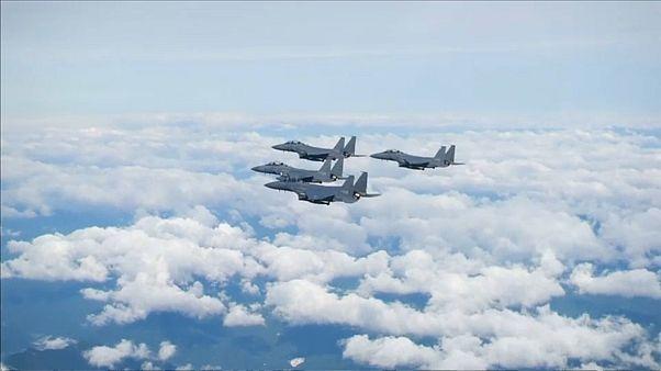 Güney Kore savaş uçakları