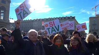 """""""Si TAV"""" - Ja zur Hochgeschwindigkeitsstrecke Turin-Lyon"""