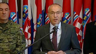Öngyilkos merénylet horvát katonák ellen