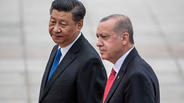 Cumhurbaşkanı Recep Tayyip Erdoğan / Çin Devlet Başkanı Şi Cinping / Pekin