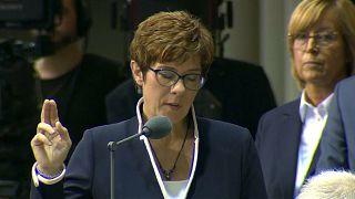 La presidente della Cdu diventa ministra della difesa tedesca
