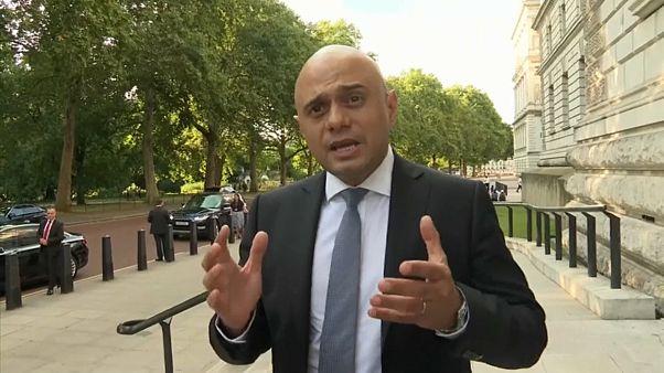 Sajid Javid wird neuer britischer Finanzminister
