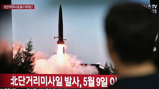 کره شمالی دو موشک کوتاه برد شلیک کرد