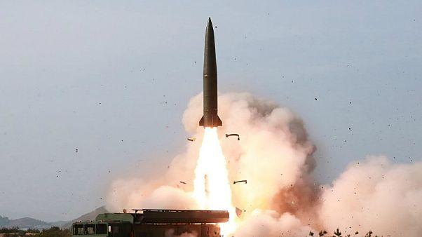 صورة لرويترز من وكالة الأنباء المركزية الكورية الشمالية