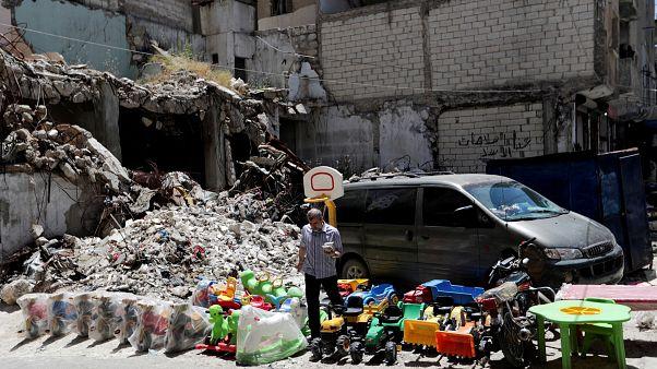 Suriye: İdlib'de son bir ayda ölen çocuk sayısı 2018'deki kayıpları geçti