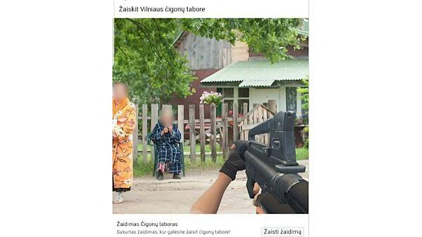Romák a célpontban egy litván videojátékban