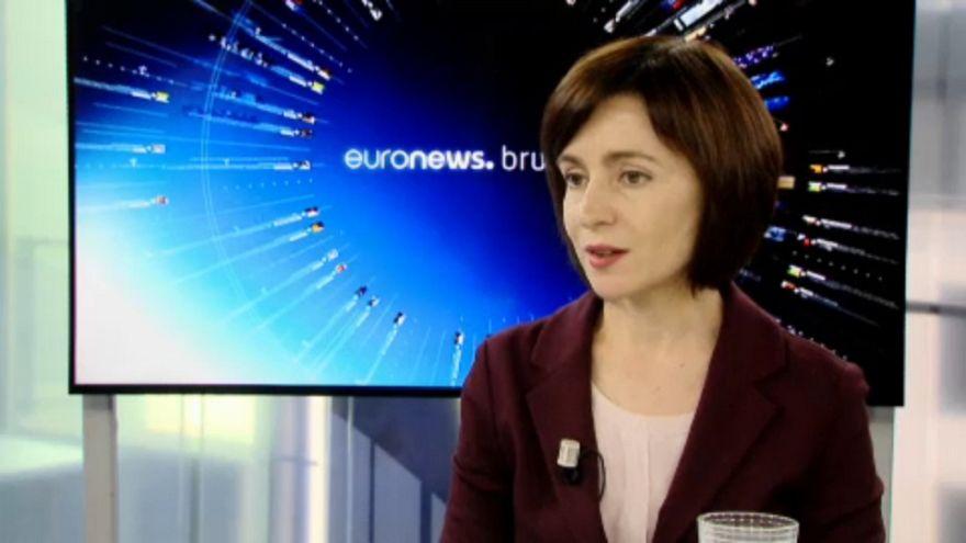 """Il primo ministro moldavo a euronews: """"non faremo concessioni alla Russia"""""""