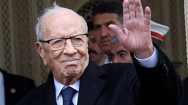 Beji Caid Essebsi 2017 in Tunis