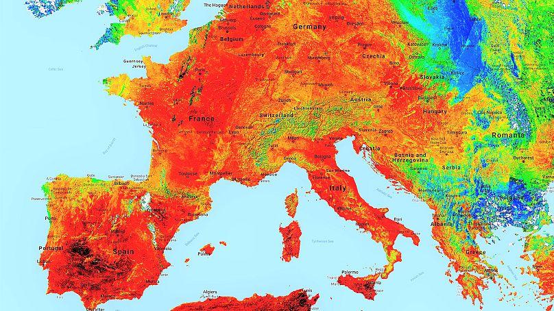 Datos Copernicus Sentinel procesados por Antonio Vecoli con @PlatformAdam