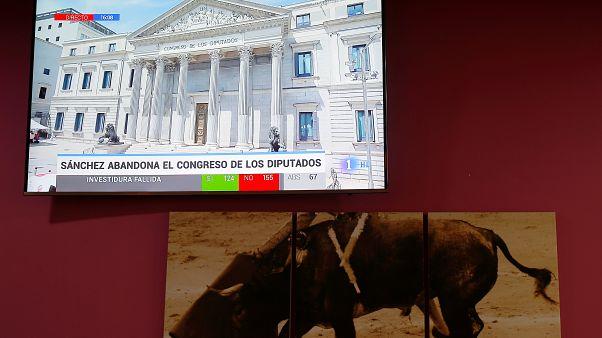 Nuova bocciatura per Pedro Sánchez: il leader socialista non potrà formare il nuovo governo
