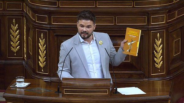 [Vídeo] El discurso de Rufián en el Congreso durante la investidura del que todo el mundo habla