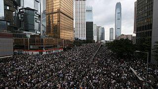 Hong Kong'da iade yasası karşıtı protestolar