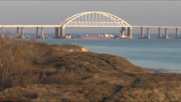 Ukraine setzt russischen Tanker fest : Geht es um 24 Matrosen?