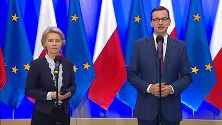 Von der Leyen in Polonia: aperture al dialogo