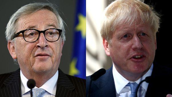 Başbakanlık görevini devralan Johnson ile Juncker arasında Brexit restleşmesi