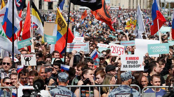 Москва предвыборная: прокуратура предостерегает, оппозиция протестует