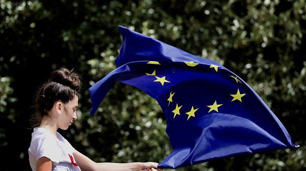 معارضة للخروج البريطاني من الاتحاد الأوروبي في لندن (أرشيف)