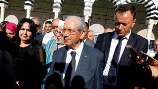 الرئيس التونسي المؤقت محمد الناصر تونس 25 يوليو/ تموز 2019