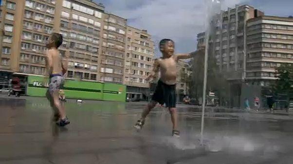 Onda de calor agrava seca na Bélgica