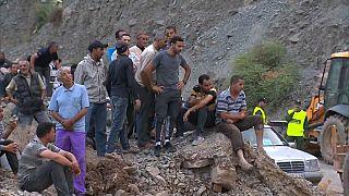 Mindestens 16 Tote durch Erdrutsch in Marokko