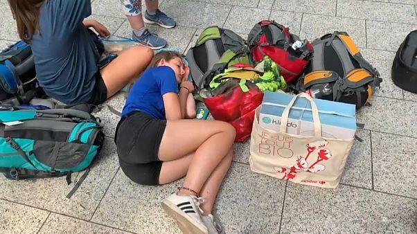 Strompanne wegen Hitze? Eurostar und Thalys blockiert
