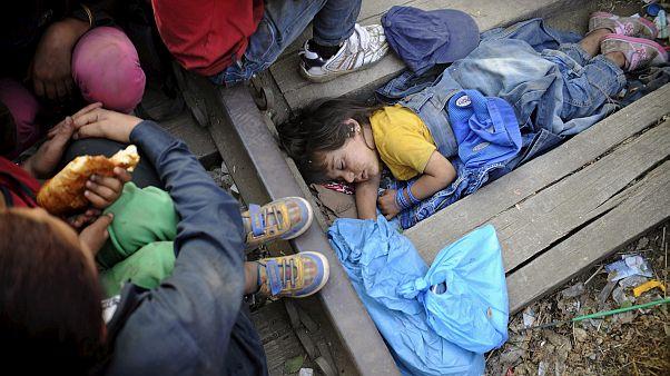 Suriyeli mülteci çocuk