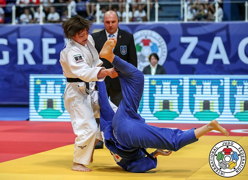 Explosive judo and close clashes on Day 1 of Zagreb Grand