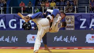Explosive judo and close clashes on Day 1 of Zagreb Grand Prix 2019