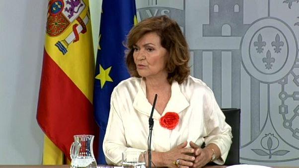 Carmen Calvo: 'Toca explorar otras situaciones'