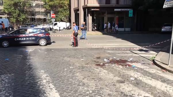 Policía asesinado en Roma