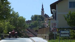An image of Kumberg in the Graz region where the Austrian cyclist lives