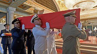 Funeral de Estado para Beji Caid Essebsi, o primeiro presidente democraticamente eleito na Tunísia