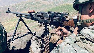Irak kuzeyinde teröristlerin yuvalandığı bölgelere karşı Pençe-2 Operasyon Planı çerçevesinde yeni bir harekat başlatıldığı açıklandı. ( MSB - Anadolu Ajansı )